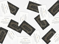 The Wilds Wedding and Event Venue Business Card