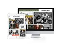 Megan Alvarez Website Design