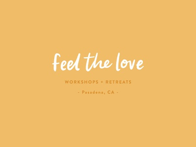 Feel the Love Photography Workshops logo design by Swoone