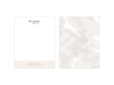Danny Covre Photography Letterhead Design