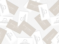 Danny Covre Photography Business Card Design