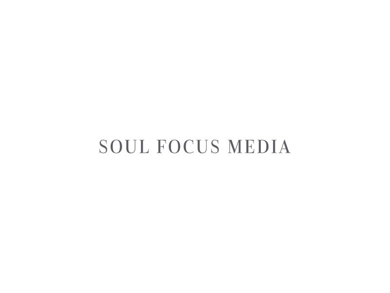 Soul Focus Media Logo Design wedding photographer serif san serif watermark icon typography design portrait photographer photographer logo branding
