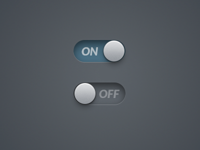 On Off switch on off dark radio on off