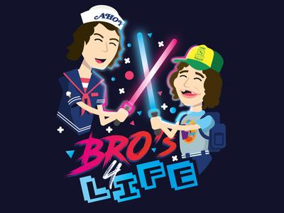 Bro's for Life - Dustin and Steve | Stranger Things