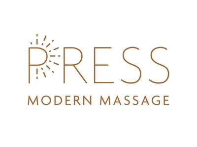 PRESS Modern Massage Primary Logo