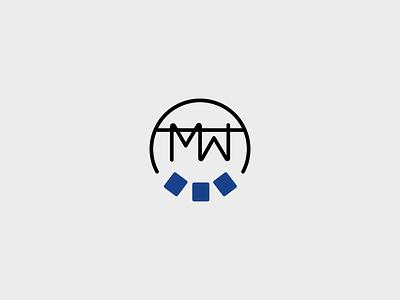 The Minimalist Wardrobe Logo Mark geometric logo branding design line art sans serif illustration minimal simple modern