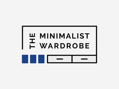 The Minimalist Wardrobe Primary Logo illustration minimal sans serif wardrobe logo branding line art the minimalist wardrobe simple modern