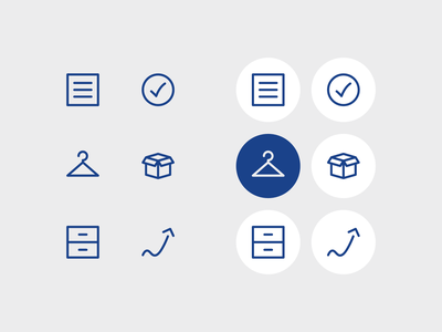 The Minimalist Wardrobe Article Icons ux ui minimal illustration iconography line art icon set icon vector simple modern