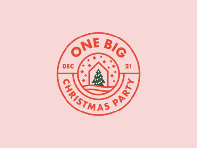 One Big Christmas Party Logo