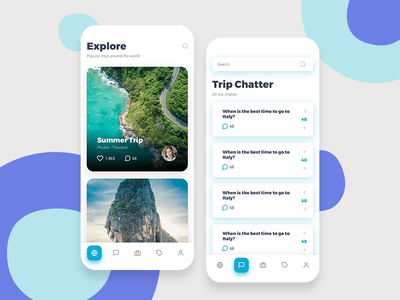 Travel App Mobile Design booking app mobile app design mobile design mobile app mobile ui mobile application app design apple app explorer explore trip planner trips trip travel agency travelling travel app traveling travel