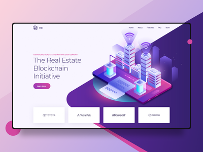 RBI - Legendary design from Hipinspire site interaction homepage real estate realestate ethereum eth wallet bitcoin exchange bitcoin services bitcoin wallet bitcoins bitcoin crypto currency crypto exchange cryptocurrency crypto wallet crypto