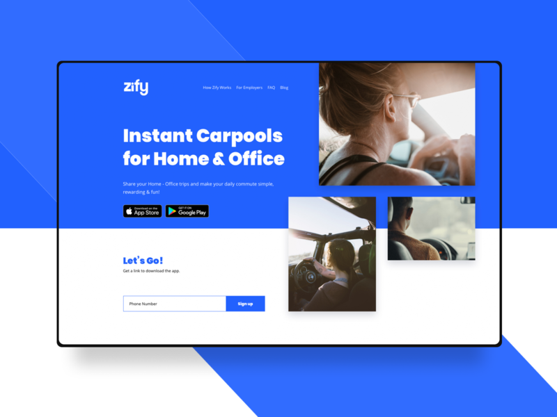 Zify - Transport website taxi app taxi automobile automotive auto lyft grab blablacar car pooling carpool car transportation transition transport ubereats uber eats uber clone uber design uber blue