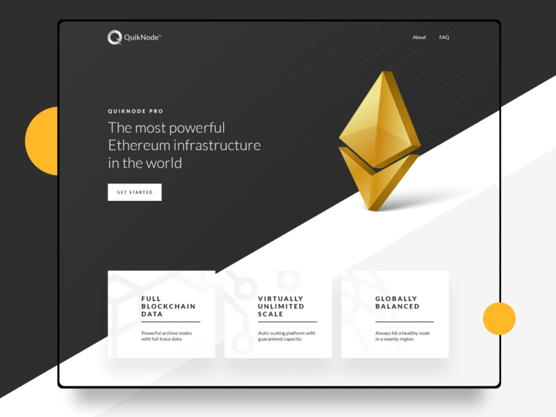 QuikNode - Ethereum Website black  white black gray grey arrows diamond logo diamond cryptocurrency crypto wallet app block chain blockchain balanced global wallet bitcoin ethereum eth nodes node