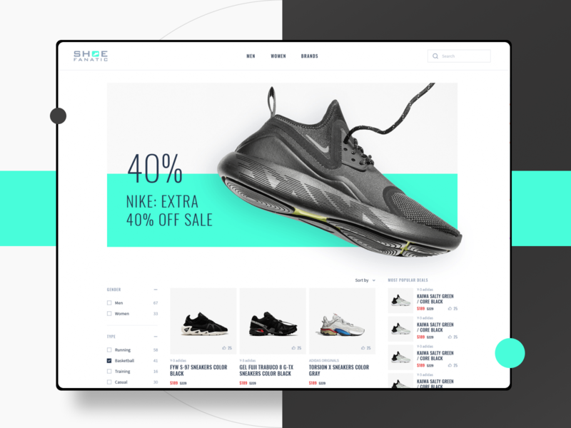 Shoe Fanatic - WooCommerce website nike air nike air max adidas nike shoes shoe e-commerce design e-commerce app e-commerce ecommerce design ecommerce shop ecommerce app ecommerce wordpress development wordpress design wordpress theme wordpress woocomerce woocommerce theme woocommerce