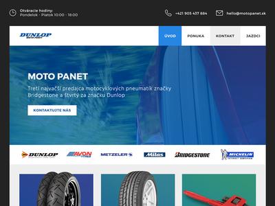 Pneu shop homepage