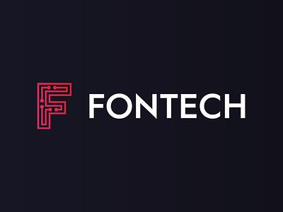 Fontech logotype young slovakia design slovak identity review smartphone phone technology tech logotype logo