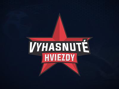 Sport Logo - Vyhasnuté Hviezdy illustration sk svk slovakia slovak star badge esports football sport logotype logo