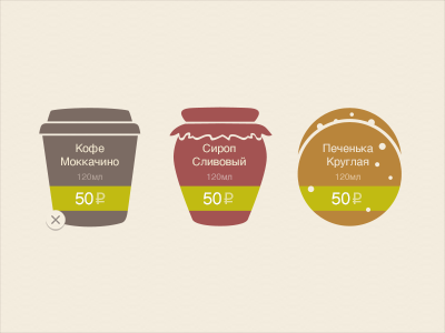 Coffee CRM Icons icon cofee jam cookies