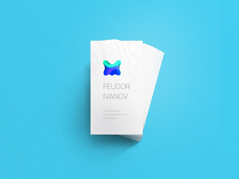 Business Card Mockup Free branding free mock up business-card