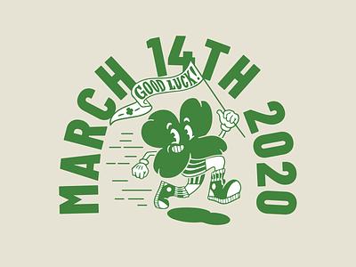 Shamrock 4K merch tshirts illustration clover four leaf clover st patricks day shamrock characterdesign