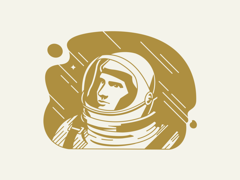 The Darker Side coffee illustration branding design coffee bag coffee packaging branding neil armstrong space illustrations space coffee branding coffee astronaut illustration