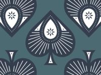 Secret Ace of Secret Spades vector design vector art card games poker ace of spades ace card design playing cards card packaging design spades packaging