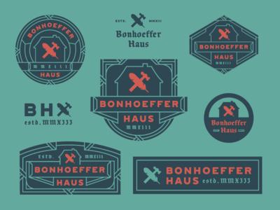 Bonhoeffer Haus Branding