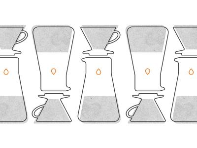 Blue Ridge Coffee Co-op patterning