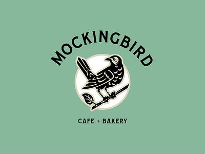 MockingBird Cafe Rebrand bird logo logo design logo branding design mockingbird bird vector illustration vector branding illustration