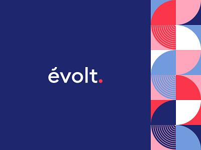 New évolt branding branding agency typography illustration ui identity branding