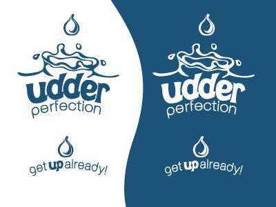 Udder Perfection Brand Concept brand exploration identity logo branding