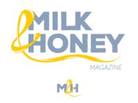 Milk&Honey Magazine Branding
