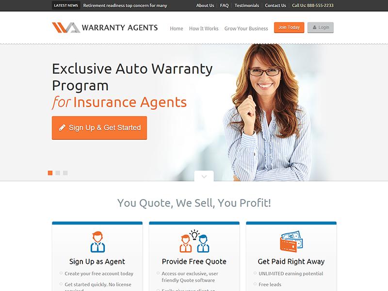 WarrantyAgents.com | Insurance Agents insurance agents agent warranty