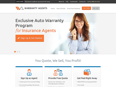 WarrantyAgents.com | Insurance Agents