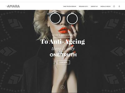 Amara Concept beauty anti-ageing healthy frame flat