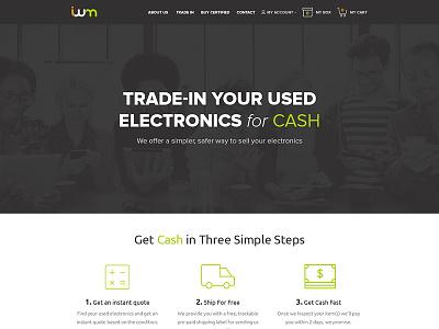 ItsWorthMore Redesign e-commerce electronics trade