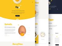 Egg!!! -  product web design