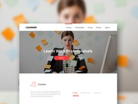 Learning - Educational Landing Page