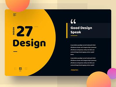 Header exploration gradient color web design good design header design ux ui