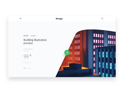 Minimal Design thinking - 02 creative design minimal header exploration good design web design ux ui