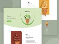Cone - web concept