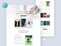 Audiobk Landing Page
