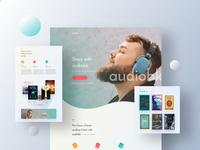 Audiobk V3 Landing Page
