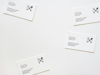 Letterpress Farm Business Cards