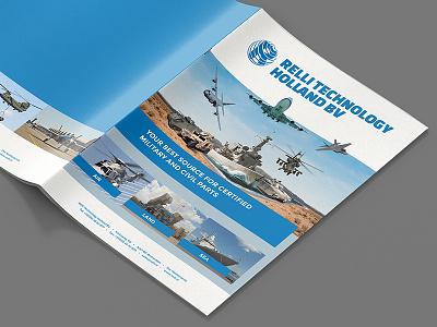 Relli Technology Brochure artwork print editorial design graphic branding brochure
