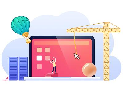 Building a desktop graphic design pc illustration