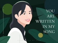 You Are Written In My Song
