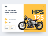 Hipster 125 Microsite Concept