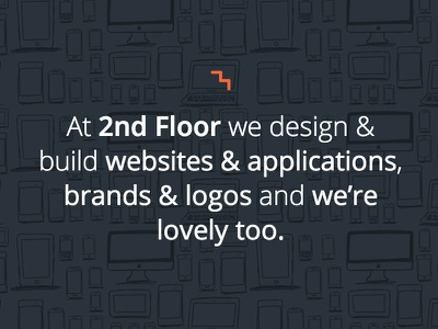 2nd Floor hero illustration cute design web design