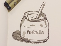 Mmm... Nutella Sketch